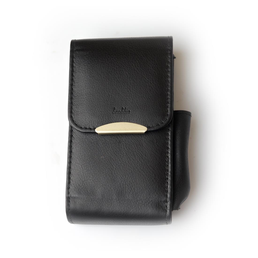 Porta pacchetto per sigarette 100 mm pelle nero brebbia - Porta pacchetto sigarette amazon ...